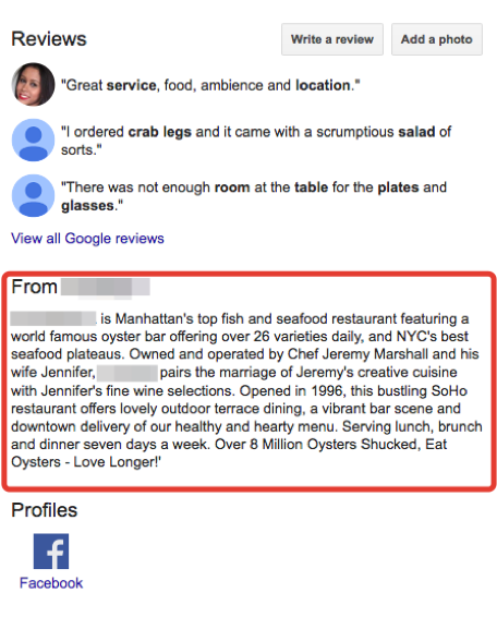 Why You Should Add Description to Your Google My Business Listing