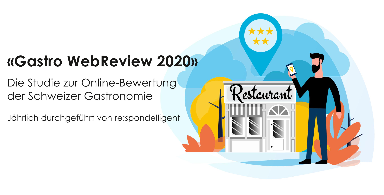 Titelbild Studie Online-Bewertungen Gastro Webreview2020