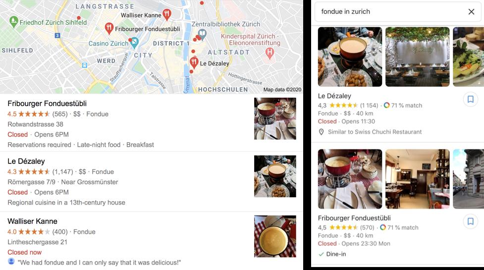 Google My Business Photos Desktop vs Mobile