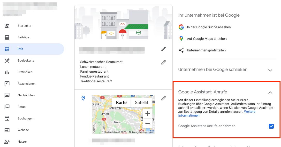 Google My Business Duplex