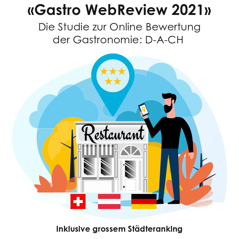 Titelbild Gastro WebReview 2021 quadratisch