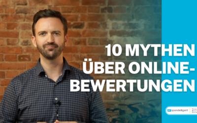 10 Mythen und Irrtümer über Online-Bewertungen